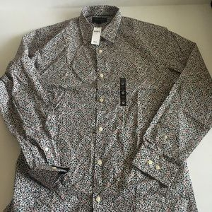 New Men's Banana Republic button down shirt